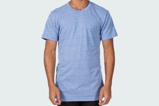 Mock-up your designs on this free American Apparel TR401 Tri-blend template.