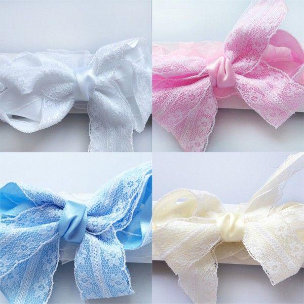 Младенцев новорожденных девочек повязки Toldder кружева цветок корона жемчуг чистая головные уборы аксессуары для детей