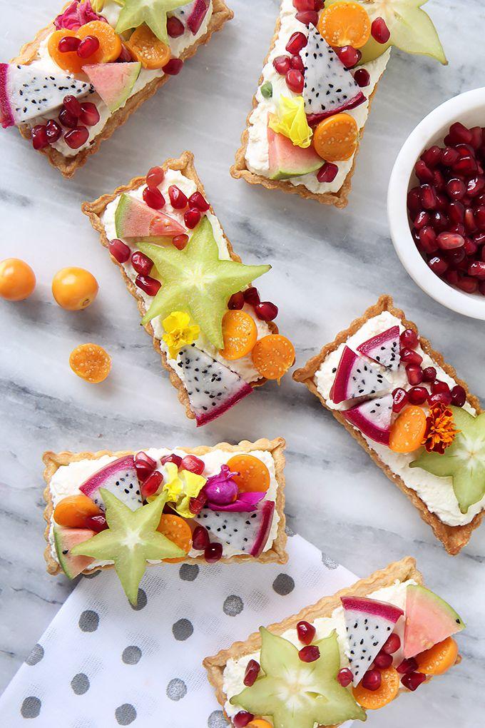 » DIY EATS | Exotic Fruit Tartlet