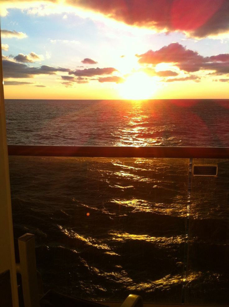 Awesome view from our balcony on carnival pride cruise for Balcony view on cruise