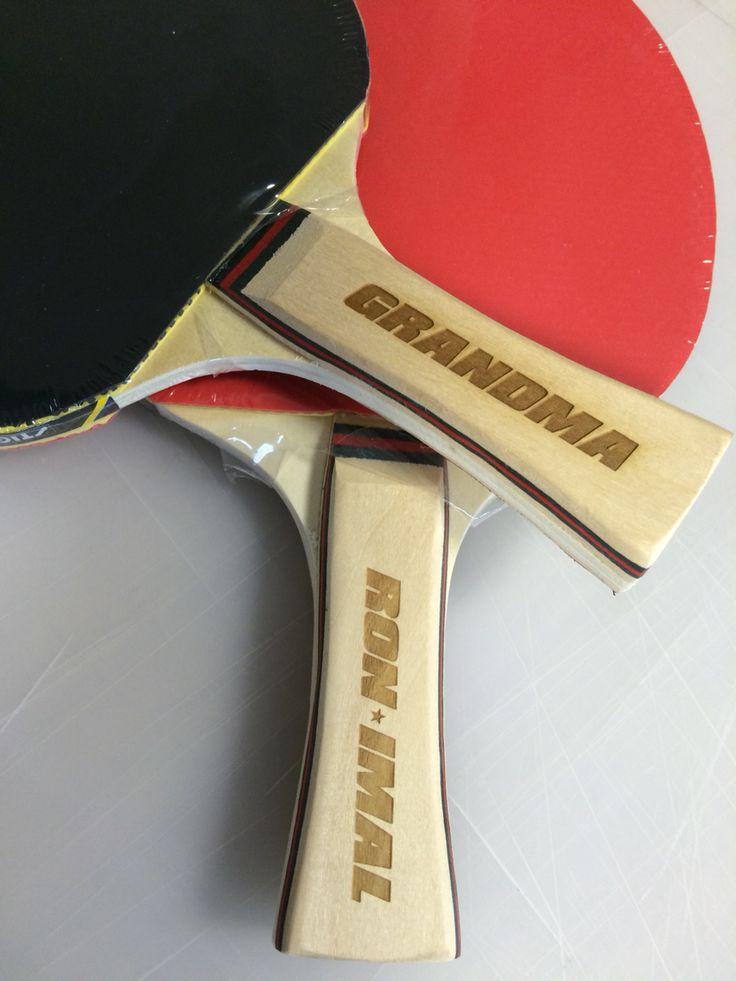 Custom ping pong paddles by meNu #meNuadesigncompany
