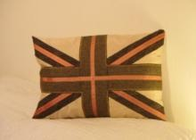 Union Jack Tweed Range | Cant Find in the Shops - lovely Union Jack cushions in tweed, make a super gift for New Homes and House Warming Parties