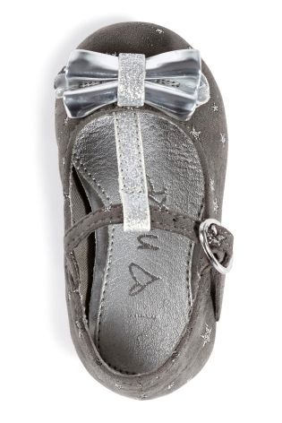 Buy Foil Bow T-Bar Shoes (Younger Girls) from the Next UK online shop