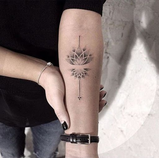 Lotus Tatuagem Ponto De Trabalho