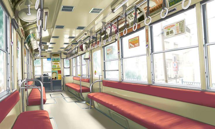 Anime Landscape: Indoor Anime Landscape [Scenery - Background]