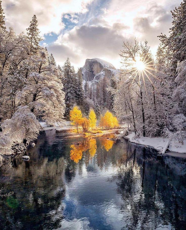 самые красивые зимние пейзажи мира фото салоне всех