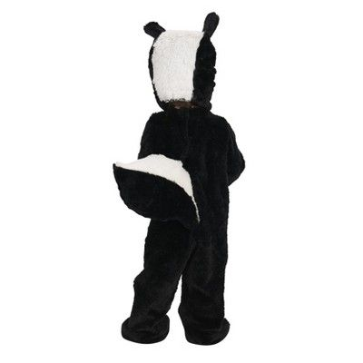 Halloween Lil' Skunk Baby Costume 12-18 Months, Infant Unisex, Size: 12-18 M, Black