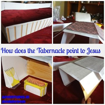 49 best children 39 s bible tabernacle temple images on for Building the tabernacle craft