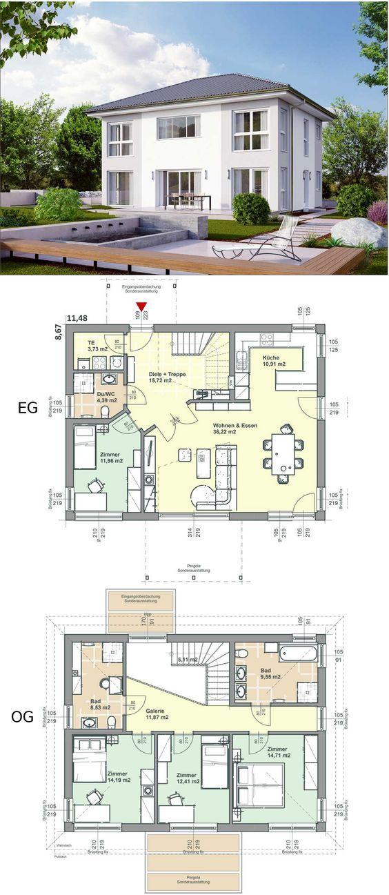 die besten 25 fertighaus kaufen ideen auf pinterest einfamilienhaus kaufen holzhaus kaufen. Black Bedroom Furniture Sets. Home Design Ideas