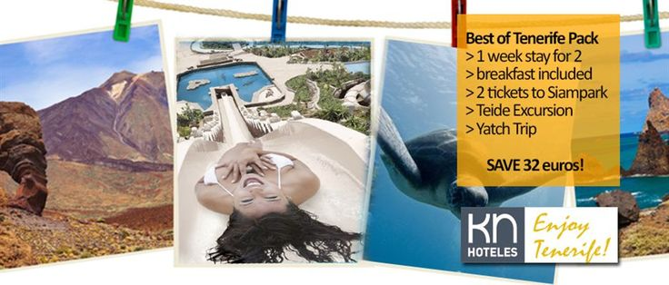 Url: http://www.knhoteles.com/en/knhoteles  Find out why in Tenerife it is spring all year round  v is known as the Island of Eternal Spring, because its average temperatura in the south of the   island is 20º. It is a worldwide premier tourist destination, in addition to its climate, its   beaches, its biodiversity, its gastronomy and its people.
