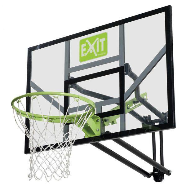 Tyylikäs seinään kiinnitettävä koripalloteline jossa voit säätää korkeutta helposti