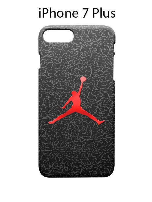 Air Jordan Art iPhone 7 PLUS Case Cover Wrap Around