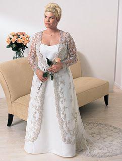 Plus size wedding vow renewal dresses