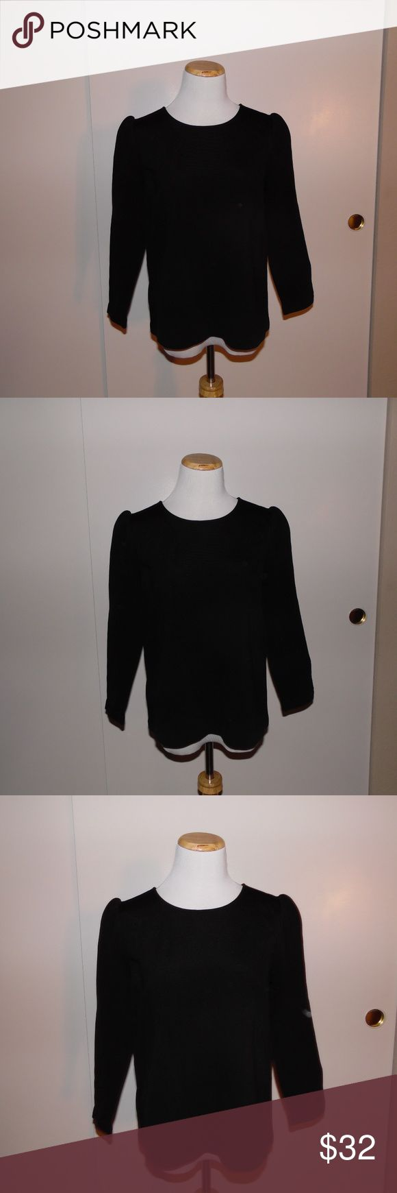 Ann Taylor Blouse New with Tags Ann Taylor Blouse, not Factory or Loft, Purchased from the Retail store! Size Small beautiful black long sleeve Ann Taylor top. Ann Taylor Tops Blouses