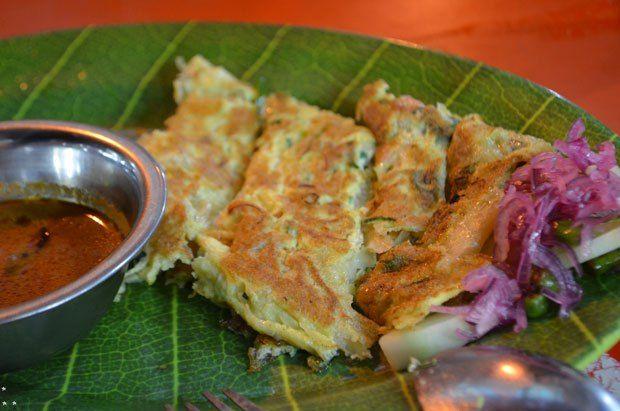 Indonesian Omelette Medan, North Sumatra