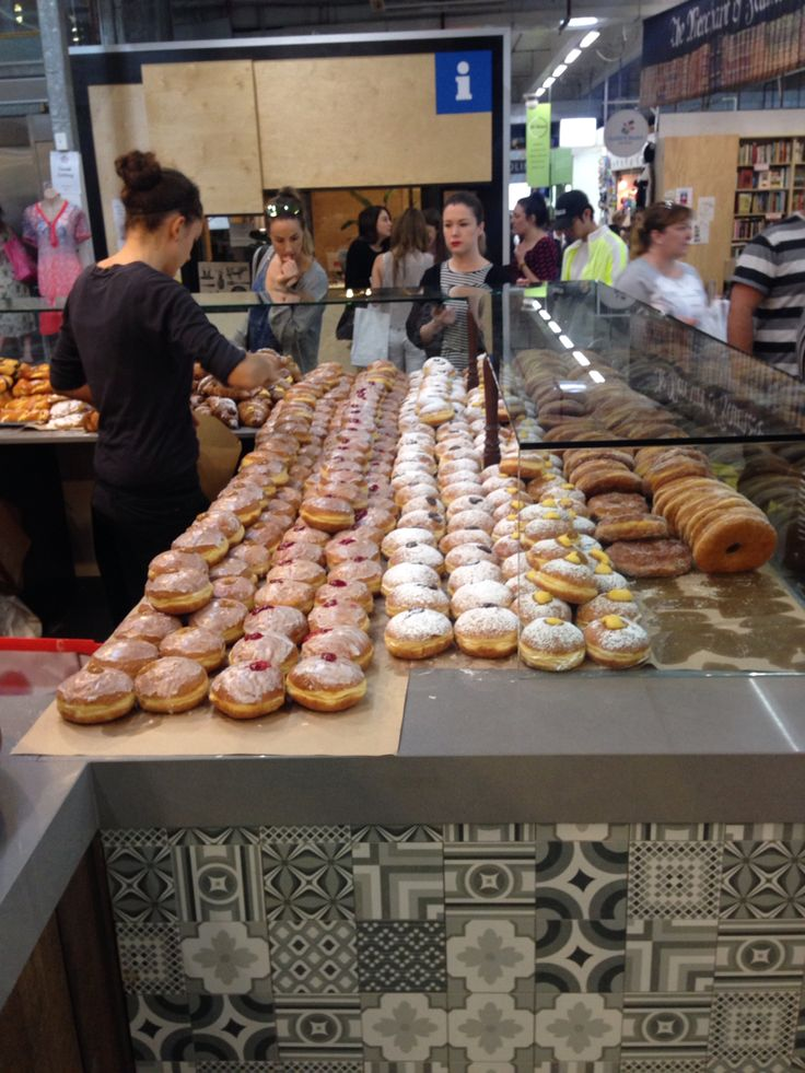 South Melbourne markets donuts