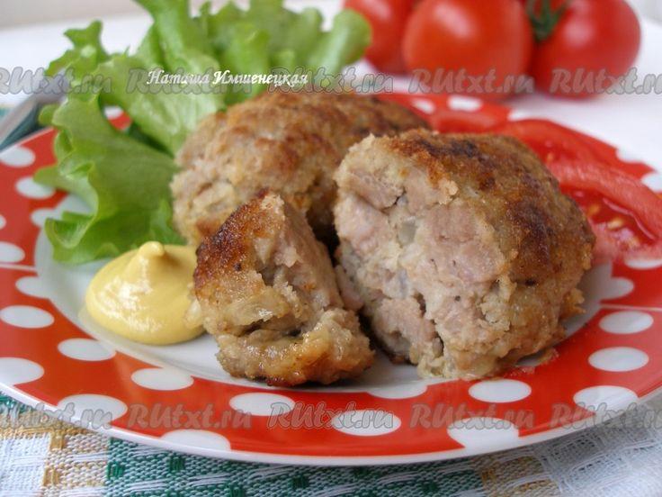 Рецепт приготовления котлет рубленных из свинини говядины