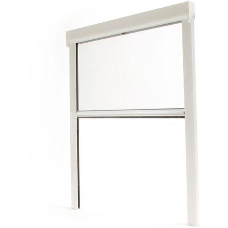 Store moustiquaire enroulable fenêtre Mousticlaire - ALU - Quincaillerie