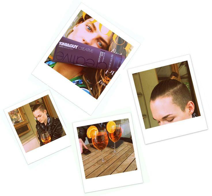 Styling podle Toni&Guy Hair Meet Wardrobe Není nic lepšího než sobota strávená s přáteli a k tomu dobré pití! PS: Baví mě hravá kolekce Creative od Toni&Guy Hair Meet Wardrobe. Obsahuje celkem tři produkty - lak na vlasy, gel Stick It Up Gum a v neposlední řadě tvarující pastu. Já jsem hned sáhnul po tvarující pastě Texturising Gluea aplikoval ji do ještě vlhkých vlasů od kořínků ke konečkům. Nakonec jsem vlasy zamotal do samurajského uzle, přehodil přes sebe biker jacket a vyrazil ...