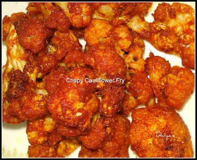 Crunchy Cauliflower Fry / Gobi Fry | You Too Can Cook - Indian Food Recipes