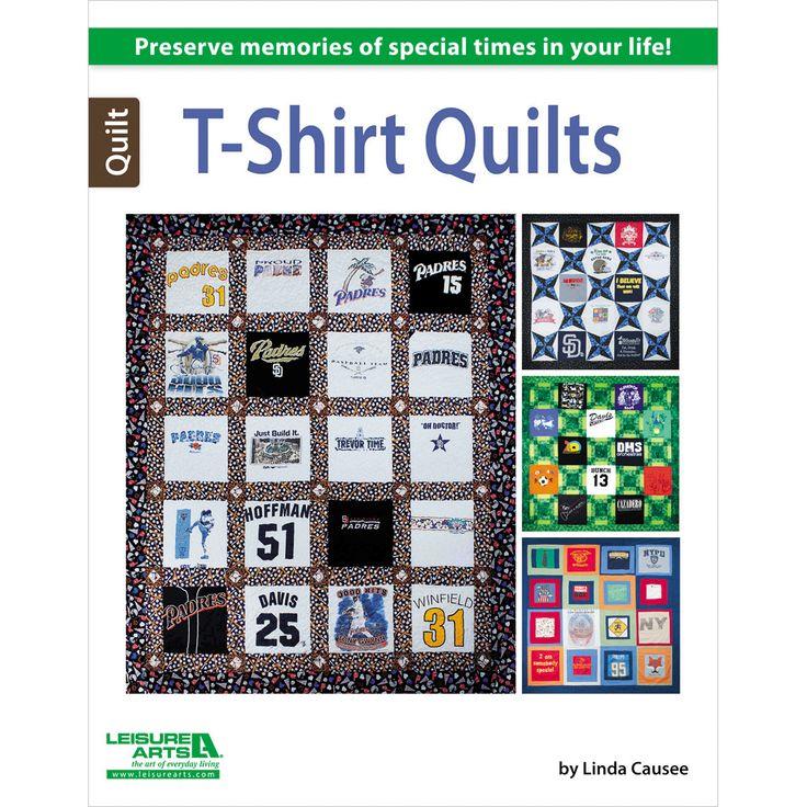 Leisure Arts-T-Shirt QuiltsLeisure Arts-T-Shirt Quilts,