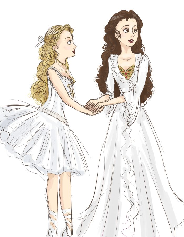 Meg and Christine by *Meowkin on deviantART: