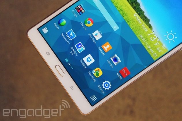 World best Tablet - Samsung Galaxy Tab S review: slim design, long battery life, stunning screen