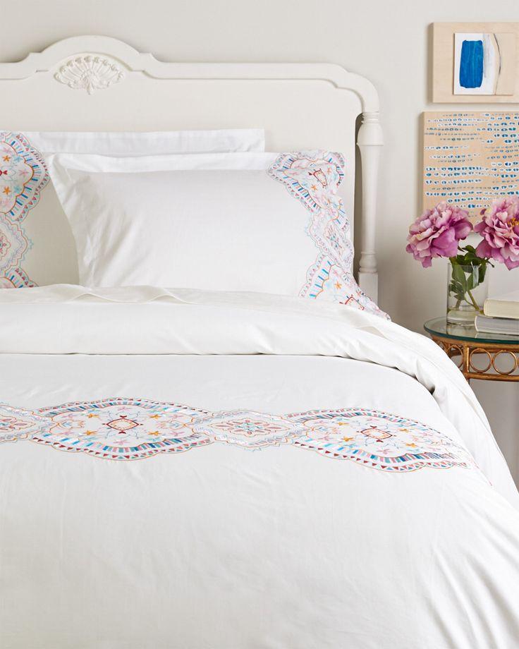 Melange Home Morocco Embroidered Duvet Set is on Rue. Shop it now.