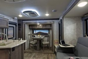 2018 Eagle Cap 1200 Frt To Rear Denim Decor Truck Camper Camper