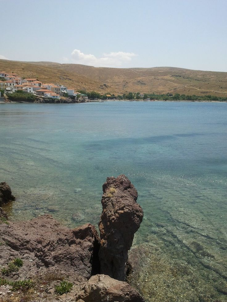 Sigri Bay, Lesvos. A great place for a swim and snorkel!