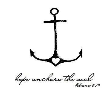 "The revised bible says ""We have this hope as an anchor for the soul, both sure and firm, and it enters in within the curtain"" I agree throughout all of my ""tribulation"" in my short 17 years of life I'd say that hope has been my anchor, my life source. Without that hope instilled by Jehovah I would have given up long ago. Thank you Jehovah for the hope you anchor within us"