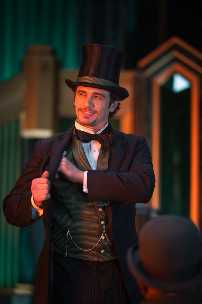 James Franco as Oz. He does have a good look for Oz... Even if it wasn't his greatest movie