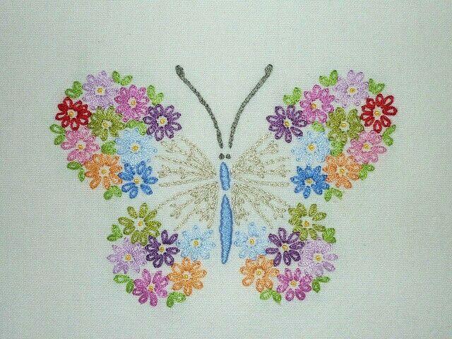 Borboleta de flor