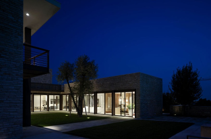 Brescia, Italy. Project by Stevan Tesic, lighting design by Pollice Illuminazione