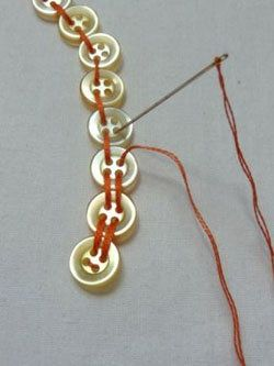 button beading