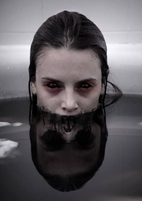 dark art, photography, and vampire image