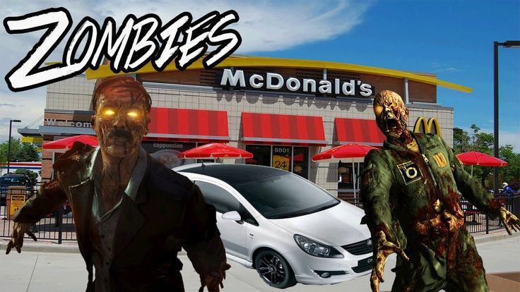 Mc Donalds Black Ops 3 Zombies Map