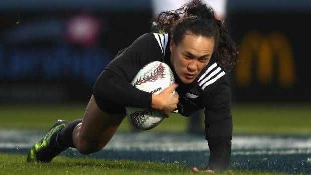 Portia Woodman will be a try-scoring threat for the Black Ferns whether she is on the wing or at centre.   BLACK FERNS' WORLD CUP SCHEDULE: August 10 v Wales (1.45am NZT kickoff); August 13 v Hong Kong (11pm); August 28 v Canada (4.15am)    Semifinals - August 23 (4am and 6.45am)    Final - August 27 (6.45am)