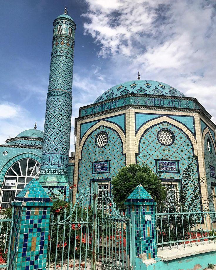 Muhteşem  mimarisi  ile  Kütahya  Çinili  Camii... Fotoğrafı  gönderen:  Fatma  Sena  Yasan