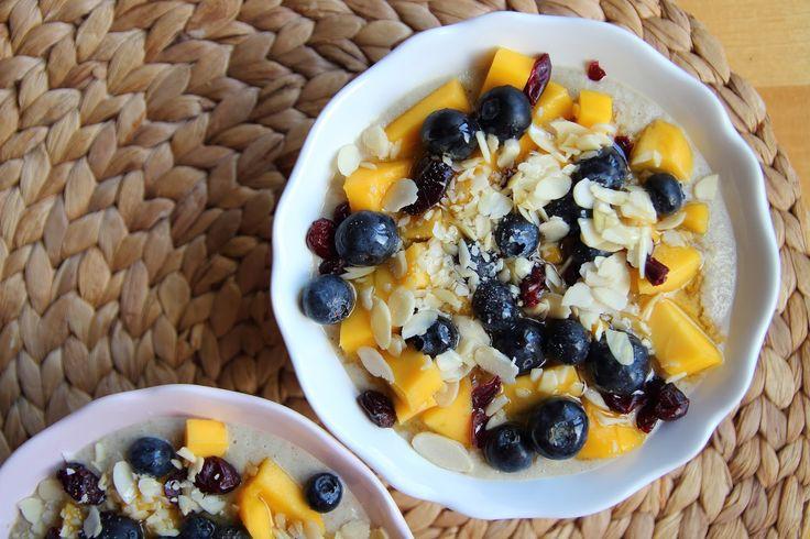 Snídaňové kaše / My breakfast gluten free porridge