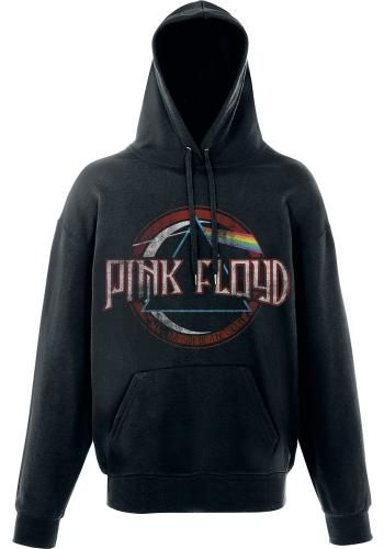 "Felpa uomo nera ""Dark Side Of The Moon"" dei #PinkFloyd."