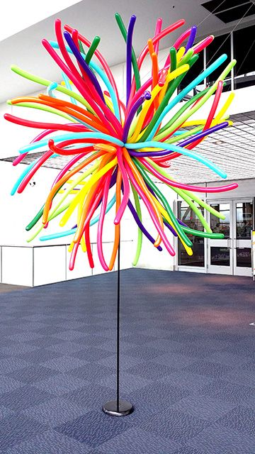 Koosh balloon columns                                                                                                                                                      More