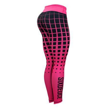Six Deuce Pink Halftone Gen.2 Fitness Leggings
