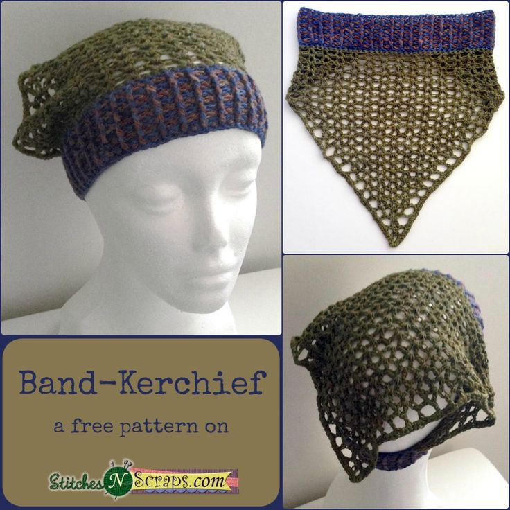 Free Crochet Hair Kerchief Patterns : ... hats fedora hats crochet sun hats free pattern free crochet hats