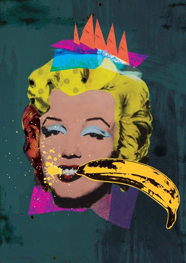 Pop Art Collages by Monika Zec, via Behance