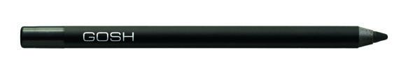 Водоустойчивый контур для глаз Carbon black. Новая формула водоустойчивого контура для глаз обеспечит Вам мягкое и лёгкое нанесение великолепного макияжа. Фиксируется в течение 30-40 секунд, что позволяет растушевать или подправить линию. Пластиковый корпус прекрасно защищает контур от воздуха и высыхания. Легко затачивается косметической точилкой GOSH. Цветной пластиковый указатель соответствует цвету контура.<br>- Мягкий<br>- Суперустойчивый и водостойкий<br>- Витамин Е<br>- Масло жо...