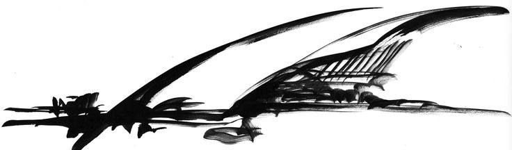 Carrasco International Airport | Rafael Viñoly Architects | Rafael Viñoly sketch