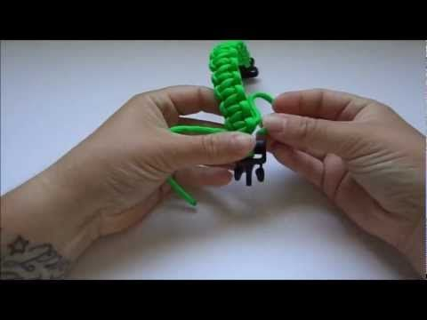 How to Make a Survival Bracelet with Buckle- Knot the Ordinary