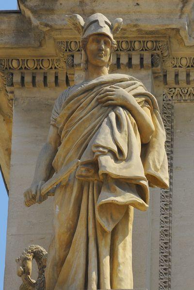 Le Dévouement. David d'Angers. Marseille