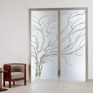 Portas interiores de vidro! - Casa e Decoração